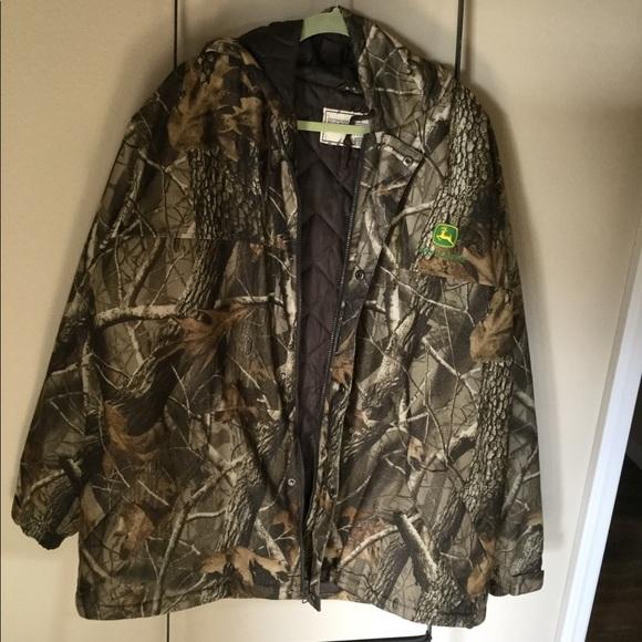 89770bcdbb26a destinations workwear Jackets & Coats | Mens John Deere Camo Jacket ...